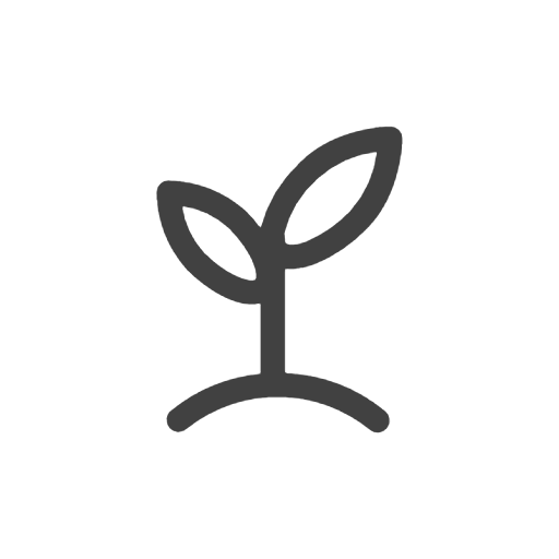 icon of a plant growing